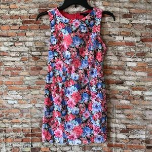 Forever 21 Floral Bodycon Dress Size Small